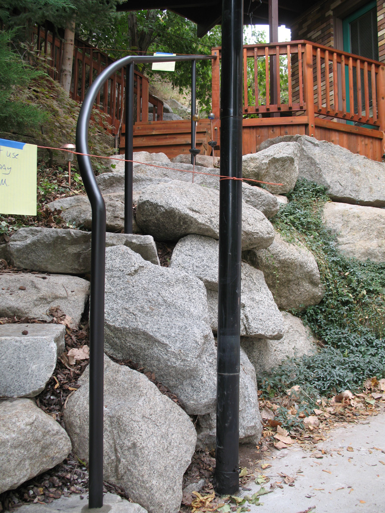 iron-anvil-handrails-post-mount-pipe-pepperwood-on-rock-stairs