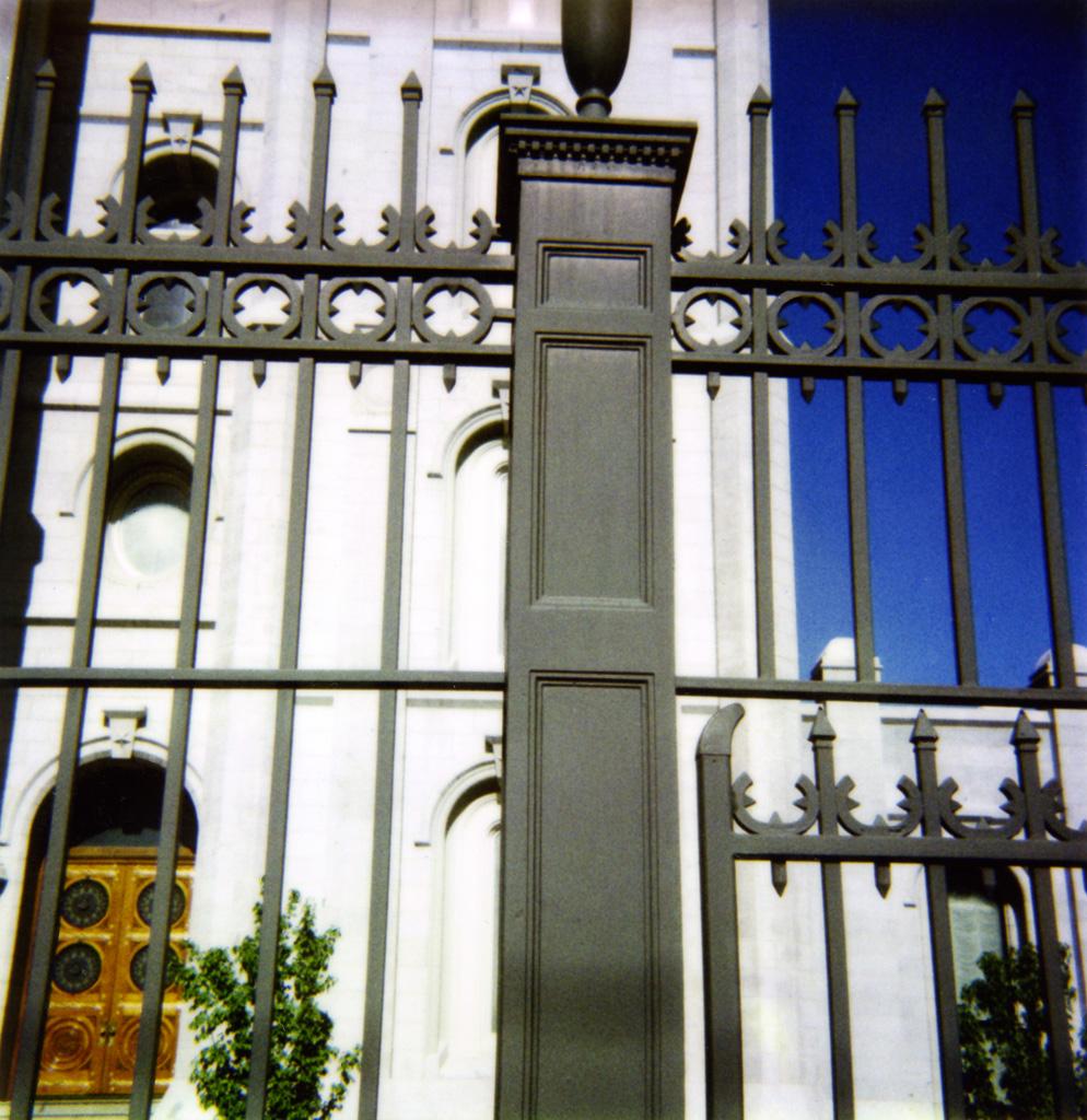 SLC Temple East Gates 2