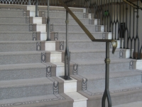 iron-anvil-handrails-post-mount-moulded-cap-st-regis-10-0914-deer-crest-by-others-1-1