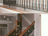 iron-anvil-railing-double-top-valance-casting-oak-classic-milkyhollow-10-4511-rail-interior-model-home-2-7